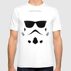 Shadetrooper Mens Fitted Tee SMALL White