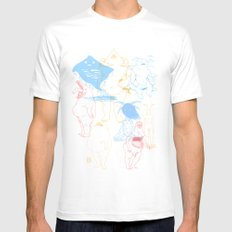 Gods of the Planets Mens Fitted Tee White SMALL