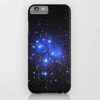 iPhone Cases featuring the Pleiades or Seven Sisters in Taurus by Guido Montañés