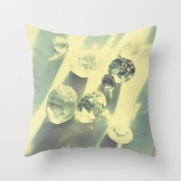 Karats. Throw Pillow