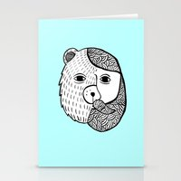 Werebear Stationery Cards