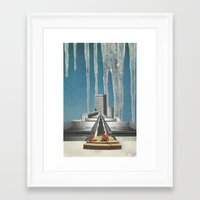 Every Melting Degree Framed Art Print