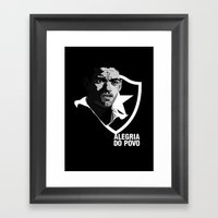 Garrincha - Joy Of The P… Framed Art Print