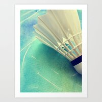 feather Art Prints featuring Feather by Yilan