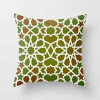 Red & Green Throw Pillow