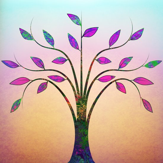 Ornamental Tree Art Print