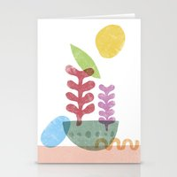Still Life With Egg & Wo… Stationery Cards