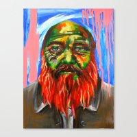 Les Envers Des Endroits Canvas Print