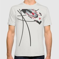 E-tron Mens Fitted Tee Silver SMALL