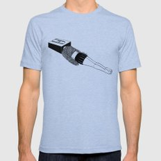 Thinking Sharp Mens Fitted Tee Tri-Blue SMALL