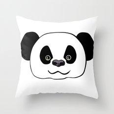 Happy Panda  Throw Pillow