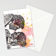 Han Solo and Princess Leia from Star Wars Stationery Cards