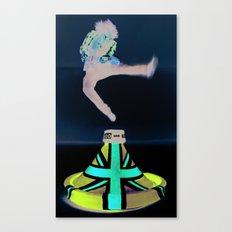 Jack's Jump 2 Canvas Print