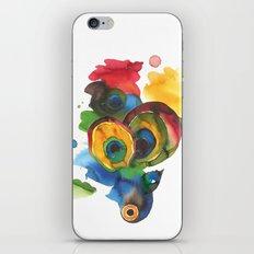 Colorful fish 3 iPhone & iPod Skin