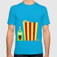 Bubol POP Mens Fitted Tee Teal SMALL