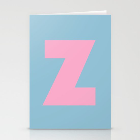 Z is for... Stationery Card