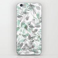 Aqua Spray iPhone & iPod Skin