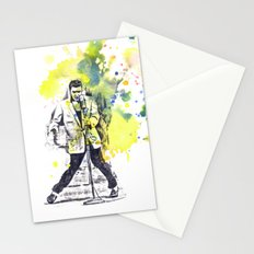 Elvis Presley Dancing Stationery Cards