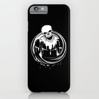 iPhone & iPod Case featuring Skeleton Wrestler by Pavel Lipcean