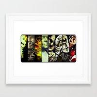 Monster Models 2013 Framed Art Print