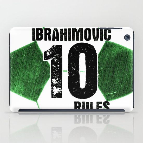 Ibrahimovic 10 Rules iPad Case