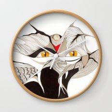 Masquerade Wall Clock