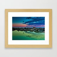 Ashbridges Bay Toronto Canada Sunrise No 12 Framed Art Print