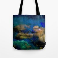 flying among the stars Tote Bag