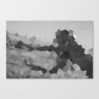 The mystery of the unknown lady    Canvas Print