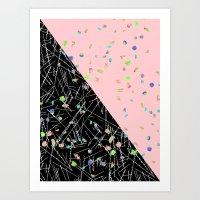 Geo Study 2 Art Print