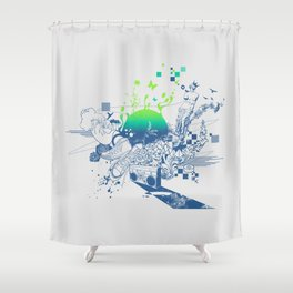 Shower Curtain - Fusion - Steven Toang