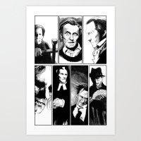 Cushing Horrors Art Print