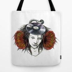 Record Head Tote Bag