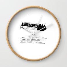 CHOCOLATE DREAMING Wall Clock