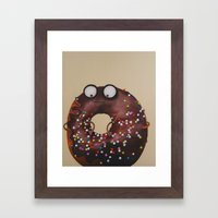 Doughnut Framed Art Print