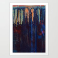 lust indigo Art Print