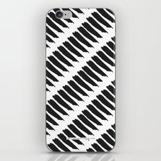 Black and White Tiger Stripes iPhone & iPod Skin
