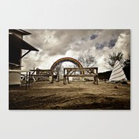Something Wicked This Way Comes Canvas Print