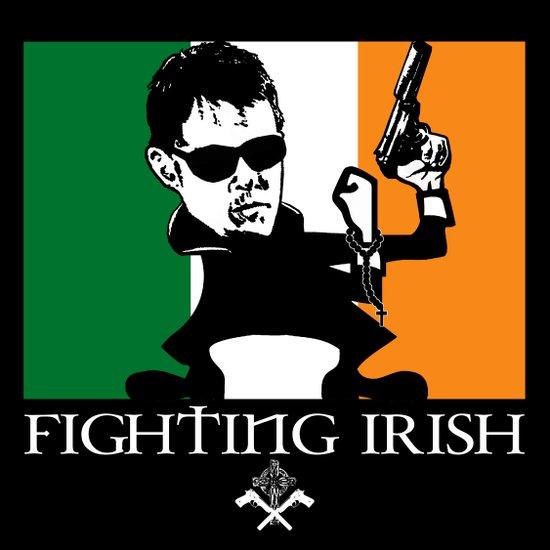 The Fighting Irish Art Print