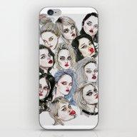 Sky Ferreira Collage iPhone & iPod Skin