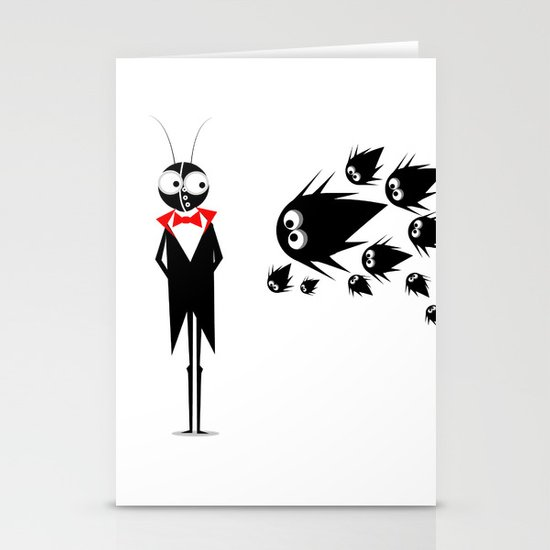 Mr.Black Stationery Card