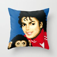 walkers from the moon Throw Pillow
