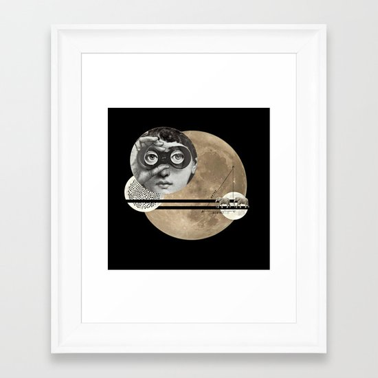 Looking for Love Framed Art Print
