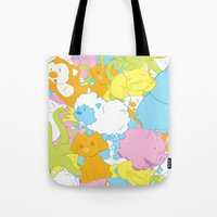 Animal March! Tote Bag