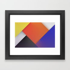 THEO VAN DOESBURG Framed Art Print