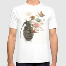 Containability to Sustainability  Mens Fitted Tee White SMALL