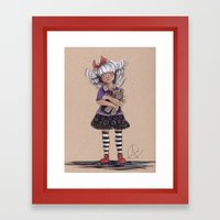 Doris Delirious Framed Art Print