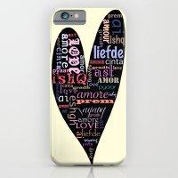 Multilingual Love iPhone 6 Slim Case