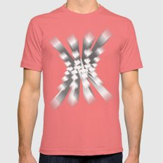 Whitey X Mens Fitted Tee Pomegranate SMALL