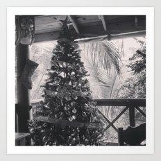 Christmas in the Tropics Art Print